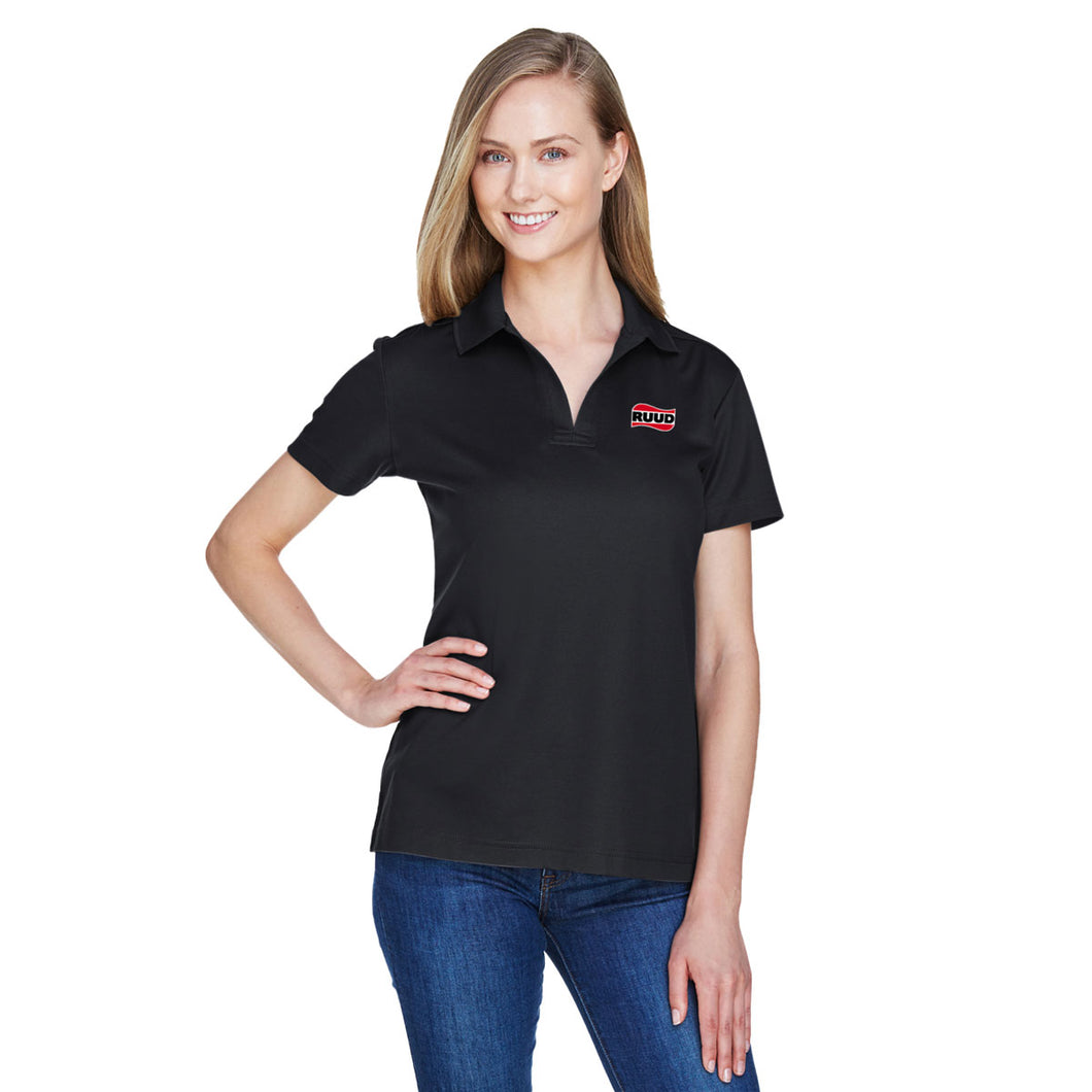 CrownLux Performance™ Ladies' Plaited Polo