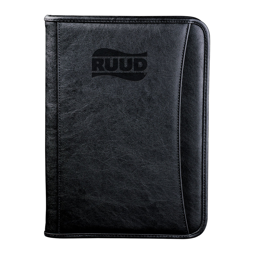 DuraHyde Zippered Padfolio