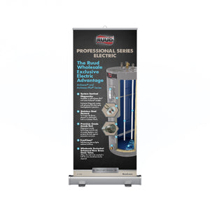 Achiever® and Achiever Plus® Series Electric Retractable Banner