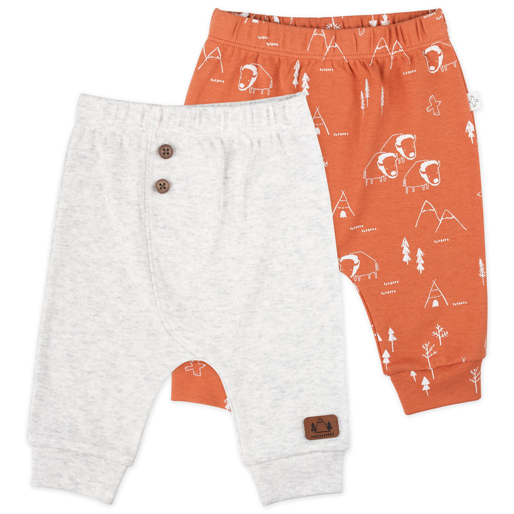 2-Pack Pant in Buffalo Print