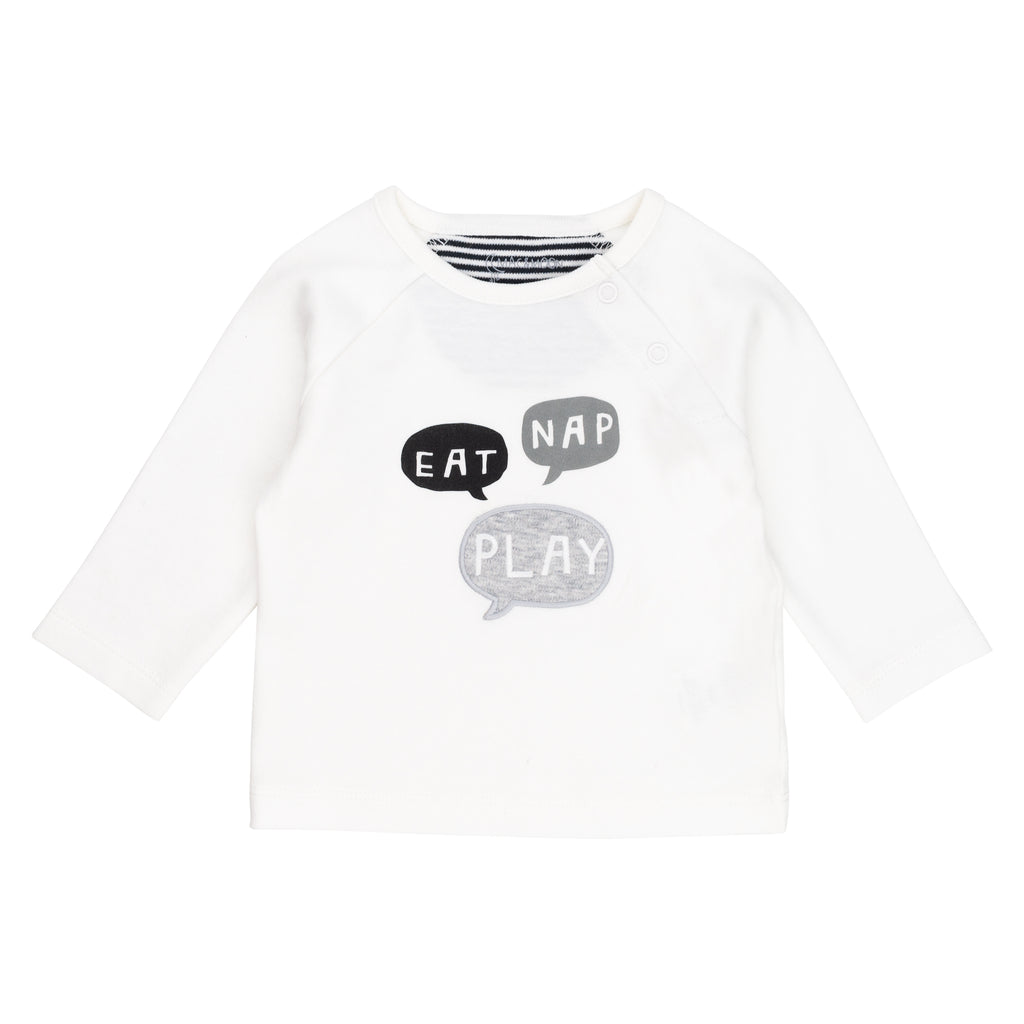 2-Pack Long Sleeve Tees in Sheep Print