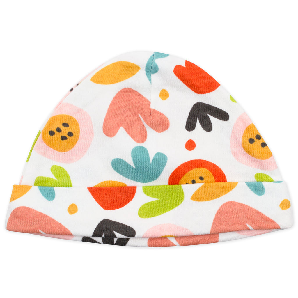 2-Pack Cap in Fox Floral Print