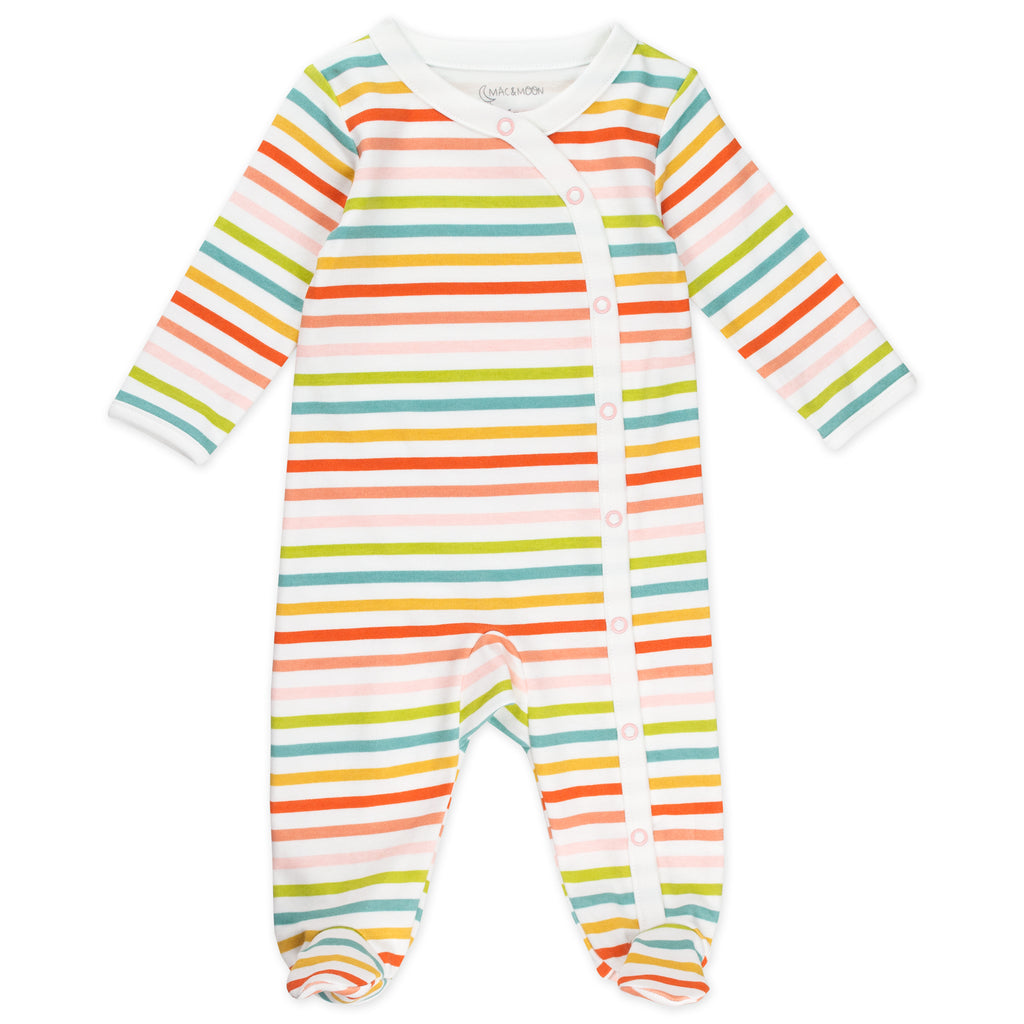 2-Pack Sleep & Play in Flower Print and Stripes