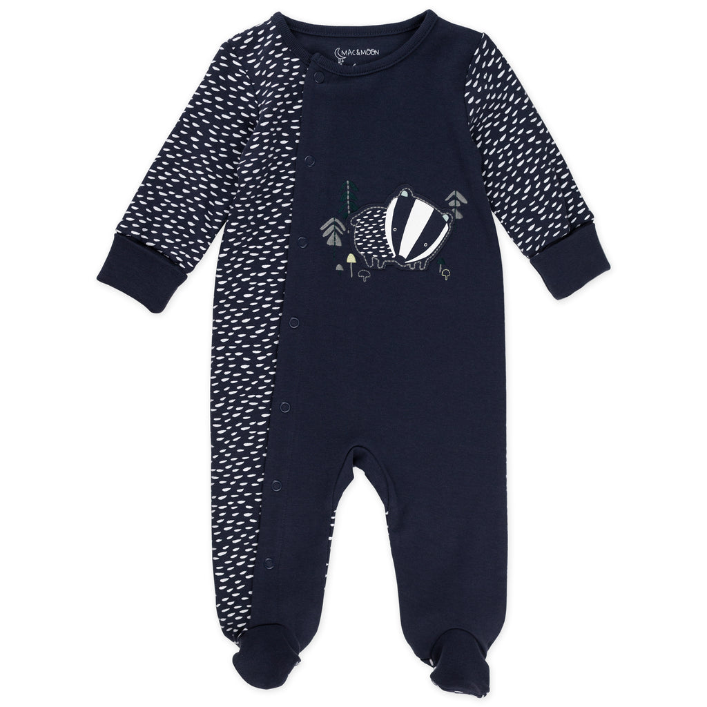 2-Pack Sleep & Play in Badger Print