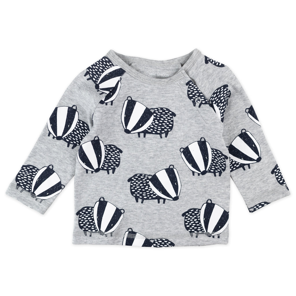 2-Pack Tees in Badger Print
