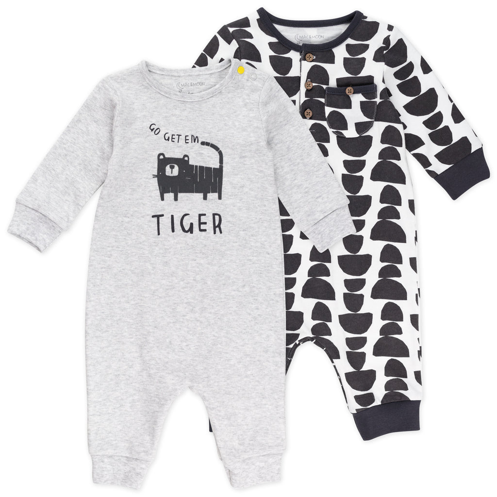 2-Pack Unionsuit in Wild Prints