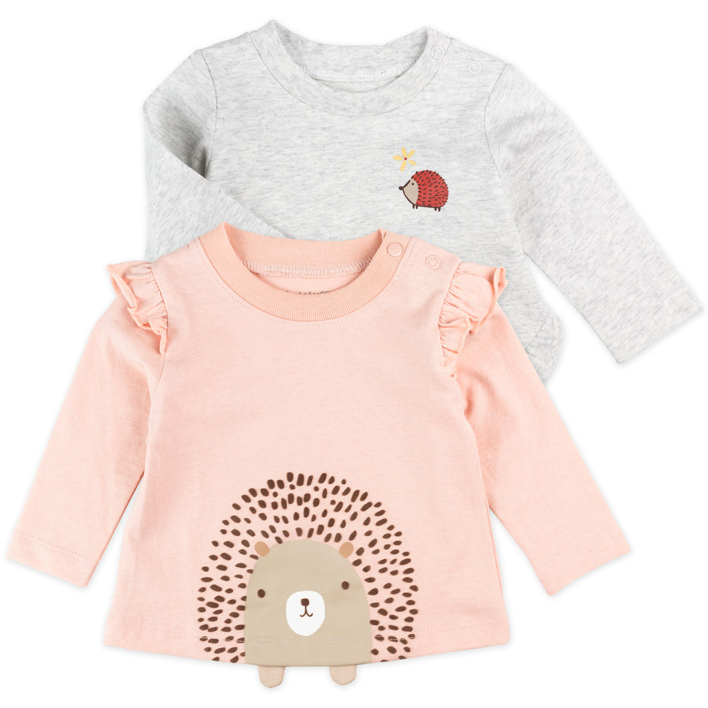 2-Pack Tees in Hedgehog Print