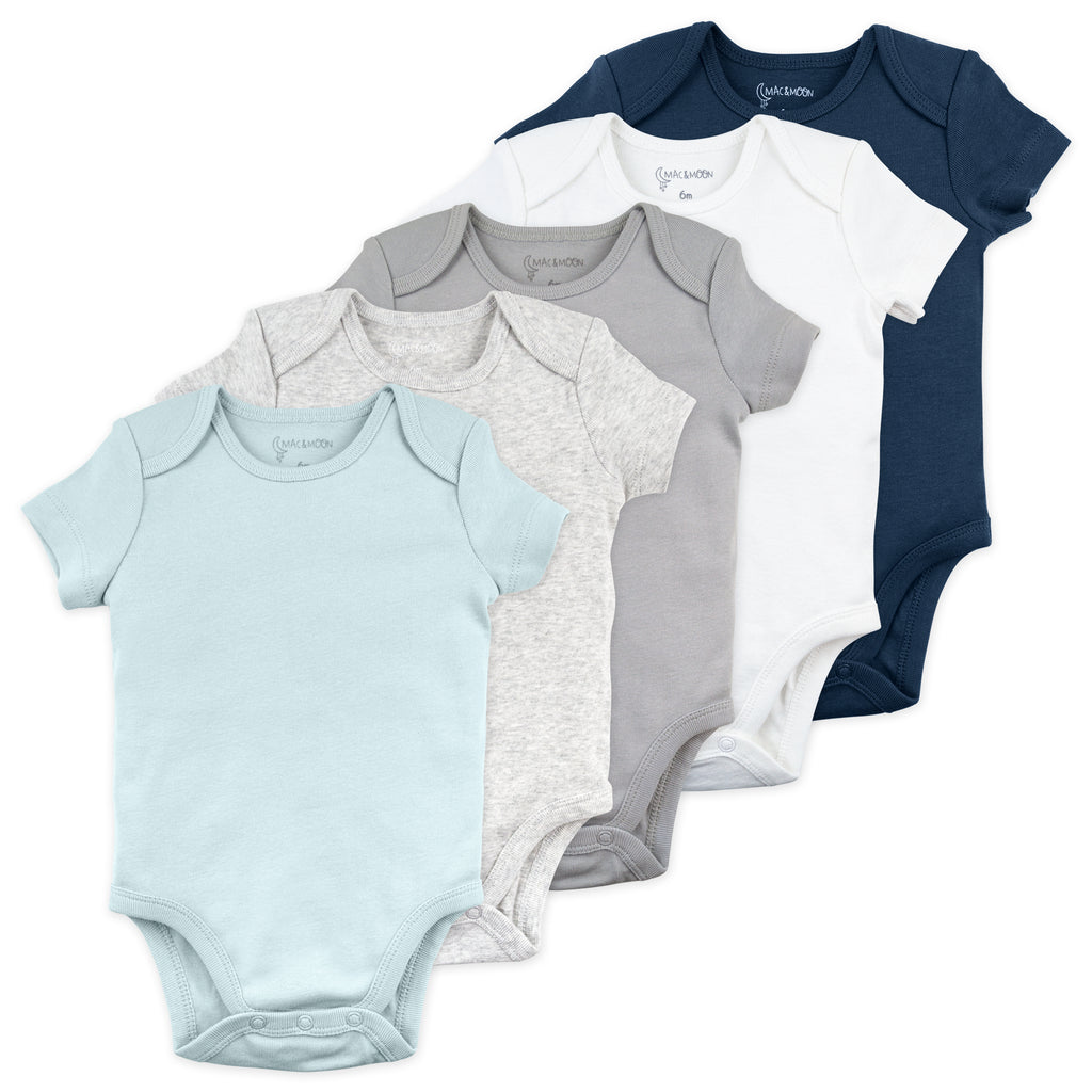 5-Pack Bodysuit in Moon Blues