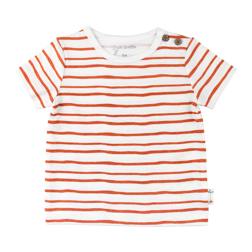 2-Pack Tees in Stripes and Dune Print