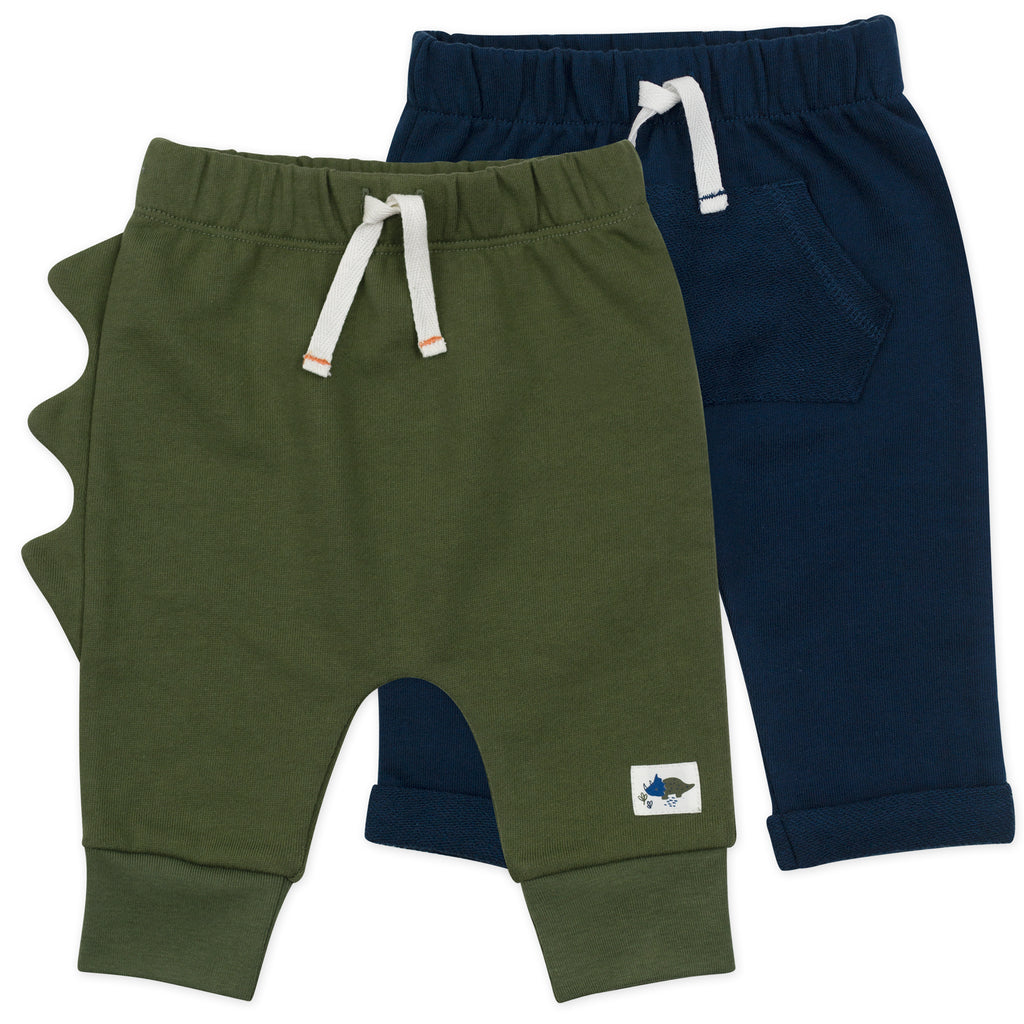 2-Pack Pant in Dinosaur Print
