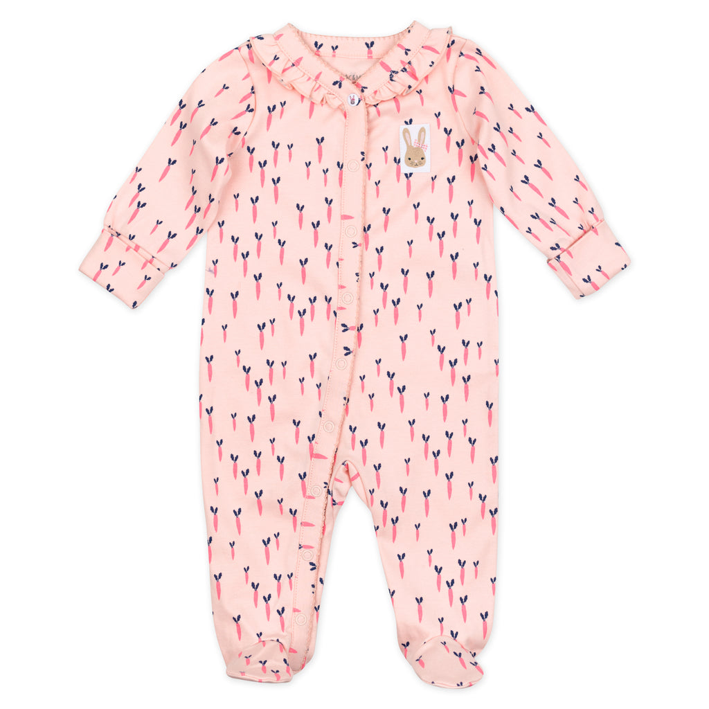 2-Pack Sleep & Play in Bunny Floral Print
