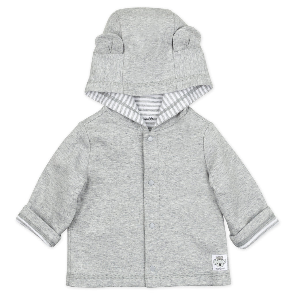 Heather Gray Koala Jacket