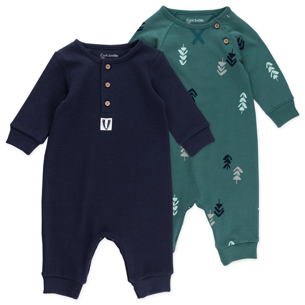 2-Pack Unionsuit in Badger Print