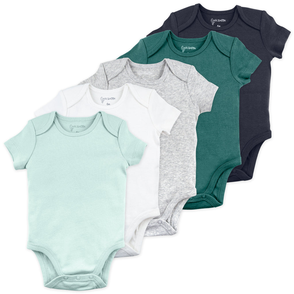 5-Pack Bodysuit in Badger Blues