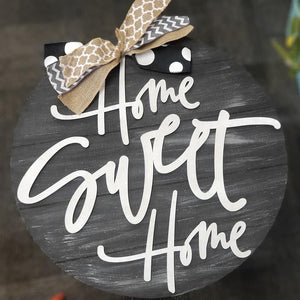 Home Sweet Home 3D Door Hanger - NOCO