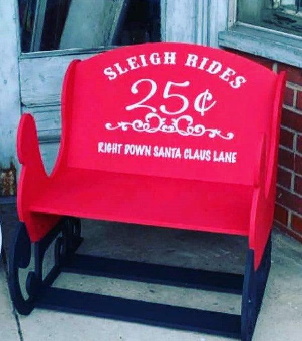Santa's Sleigh Workshop - Friday, June 19th - 6pm