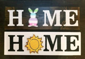 Interchangeable Shape Home/Welcome Sign Workshop - Saturday, July 13th