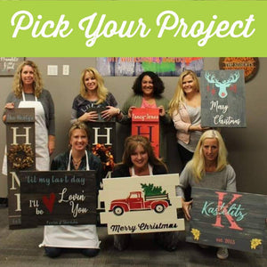 Hulstrom Allstars Pick Your Project DIY Workshop