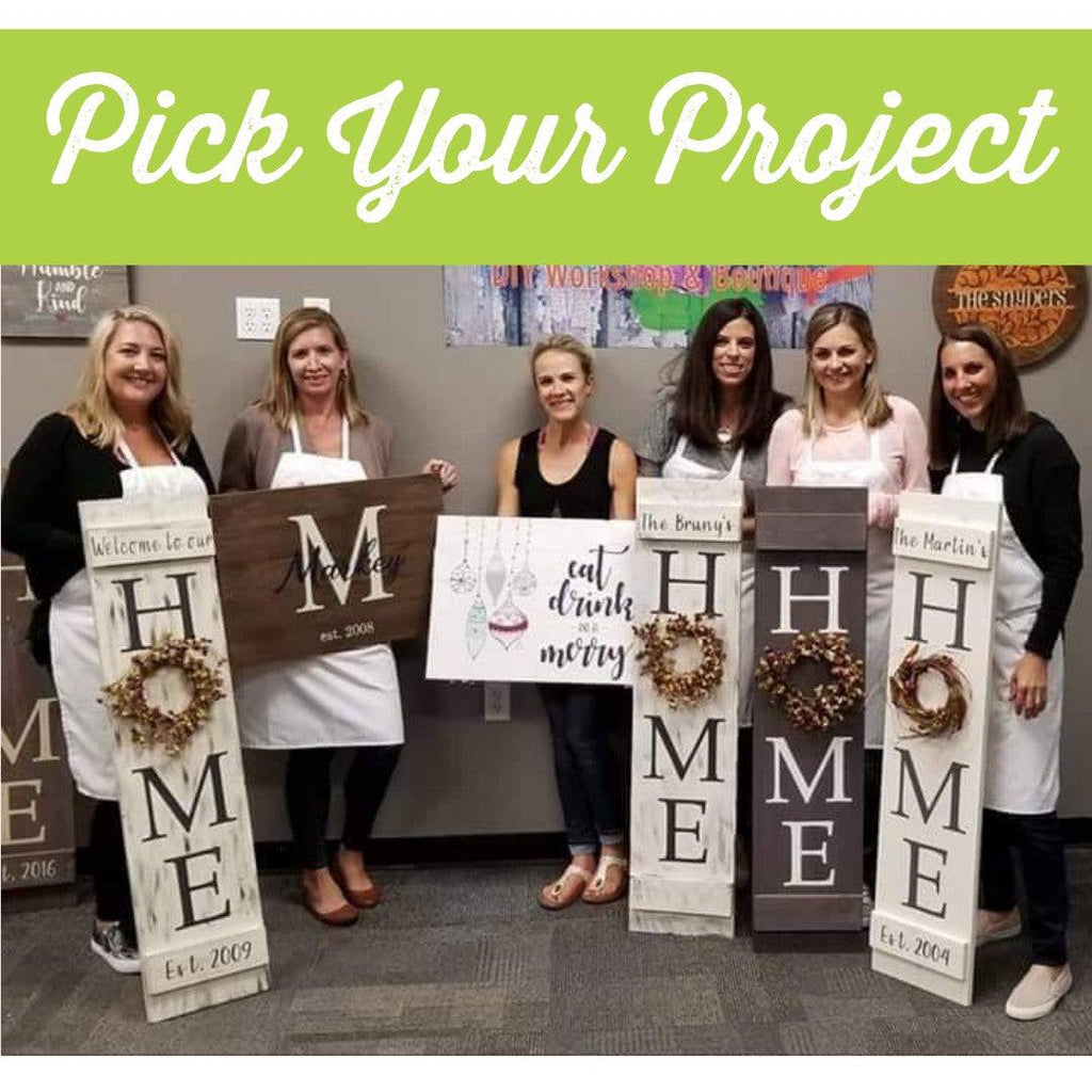 Susie's Private Party - Pick Your Project DIY Paint Workshop - Tuesday, December 11th - 6:30pm