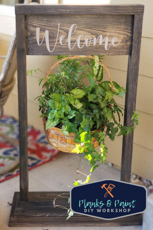 Hanging Plant Stand To Go Kit