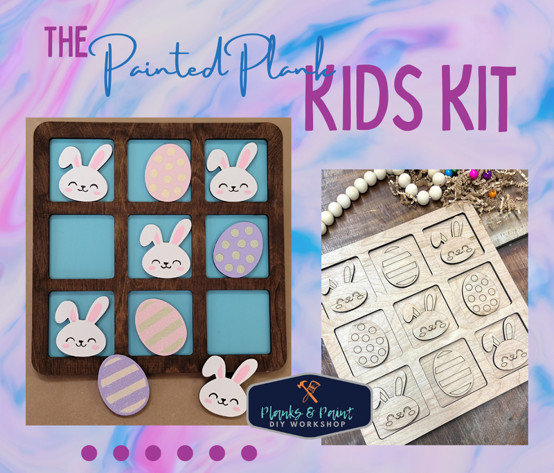 The Painted Plank March Kids Kit