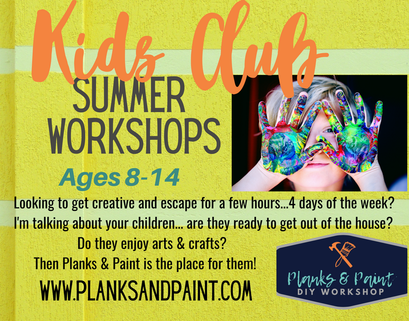 Kids Club Summer Workshop - Session 3
