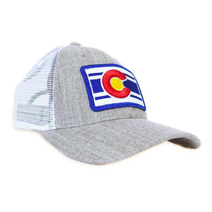 Heather Grey Low Profile Trucker Hat