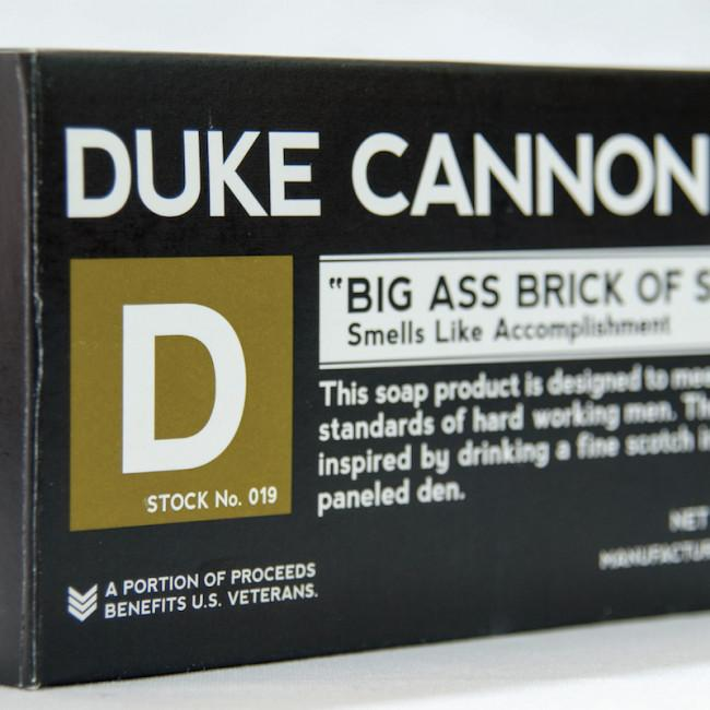 Duke Cannon Big Ass Brick of Soap - Accomplishment
