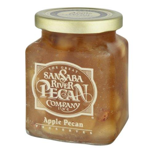 San Saba Pecan Co Apple Pecan Preserves - 11oz.