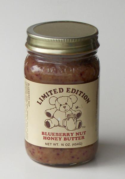 Blueberry Nut Honey Butter