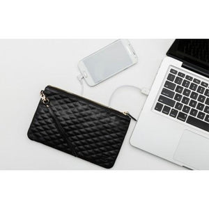 Wristlet - Diamond Black