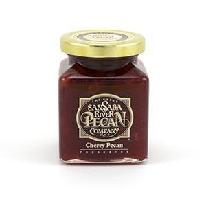 San Saba Pecan Co Cherry Pecan Preserves - 11oz.