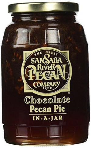 San Saba Pecan Co Chocolate Pecan Pie In A Jar