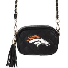 Women's Cuce Denver Broncos Safety Stadium Compliant Crossbody
