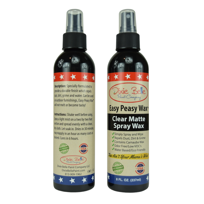 Easy Peasy Spray Wax - 8oz