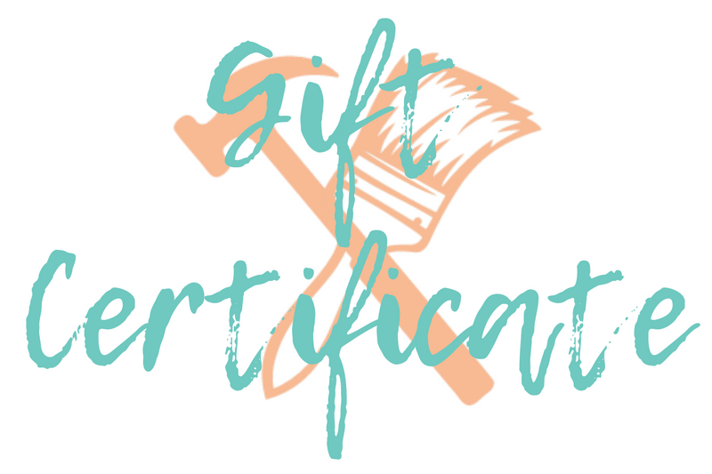 Planks & Paint Gift Certificate - $60