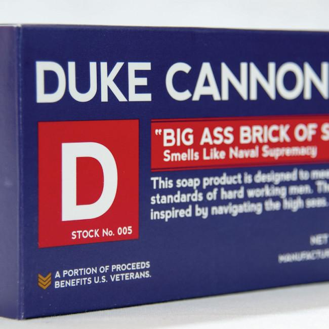 Duke Cannon Big Ass Brick of Soap - Naval Supremacy