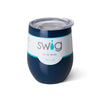 Swig 12oz Stemless Wine Cup - Navy