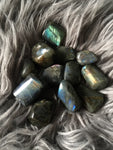 Labradorite Tumble - Wilde Mountain Crystals