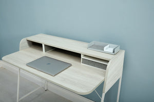 Carrier Desk with Riser