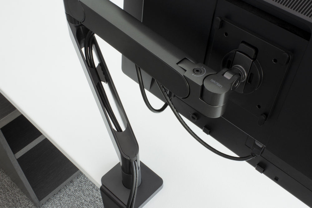 Swerv Monitor Arm, Single Arm