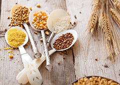 grains to use in chicken feed