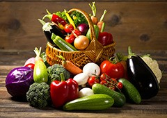 mixed veggie basket
