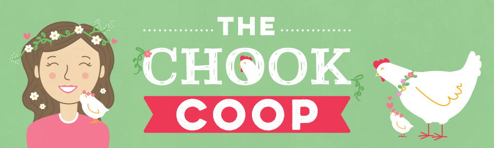 the chook coop blog spring banner