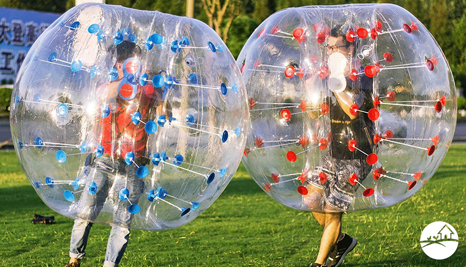 bumper ball set backyard kids gift idea