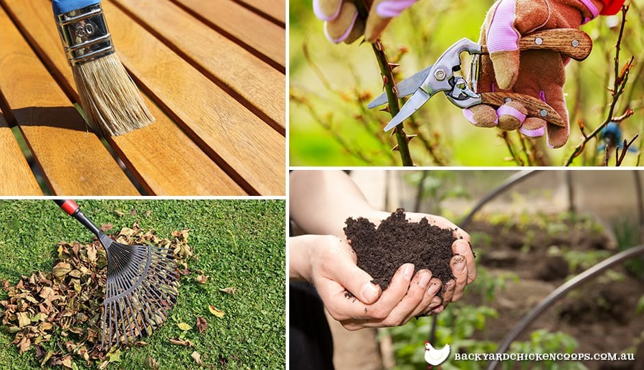 spring is the perfect time to get your yard, verenda and garden into order