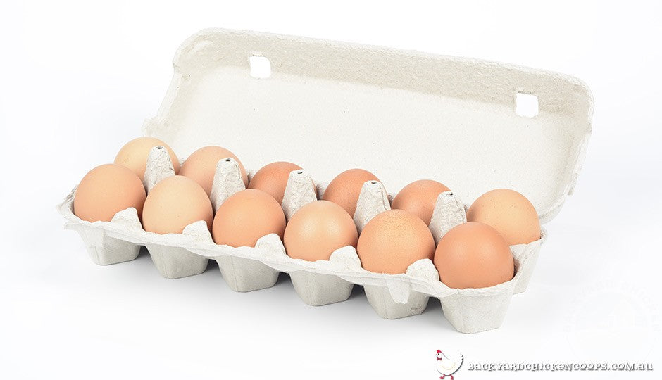 Storing eggs in an egg carton protects them from odours and extends their shelf-life
