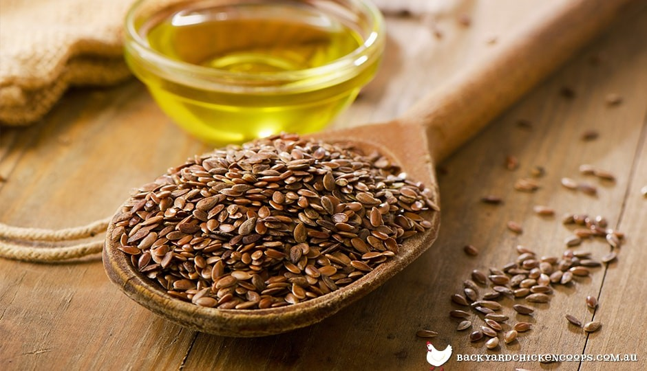 flaxseed-on-a-wooden-spoon