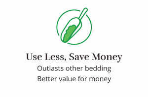 hemp bedding saves you money icon
