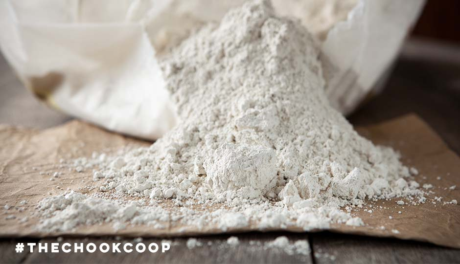 natural chicken coop product diatomaceous earth